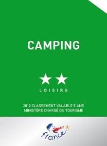 camping deux étoiles